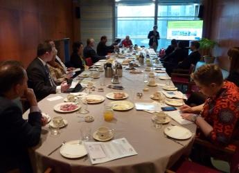 MAGIC breakfast at European Parliament (c) James Hutton Institute
