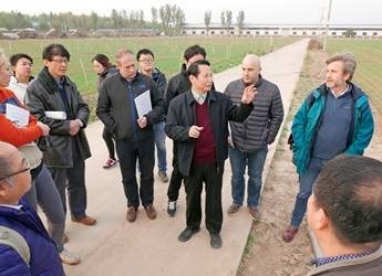 Research collaboration between China and the UK (c) James Hutton Institute
