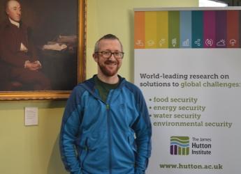Professor Rob Brooker, new Ecological Sciences leader