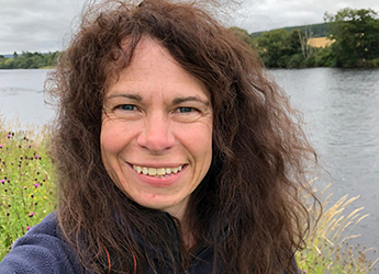 Dr Susan Cooksley, manager of the Dee Catchment Partnership
