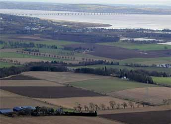 Aerial photograph of the Centre for Sustainable Cropping