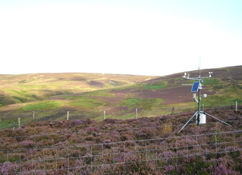 Image showing the Automatic Weather Station at Glensaugh