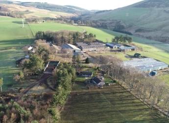 Glensaugh steading (c) James Hutton Institute