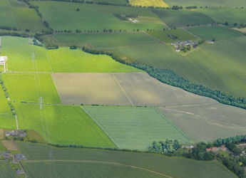 Aerial view of the Centre for Sustainable Cropping (c) James Hutton Institute