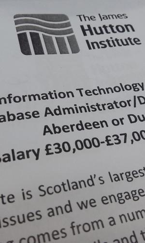IMage showing job description