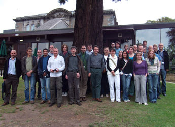 Photograph of members of the Dundee Effector Consortium