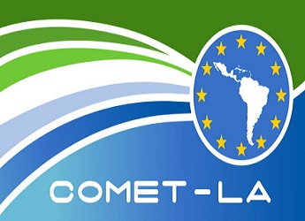 The logo of COMET-LA