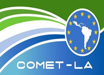 The logo of COMET-LA