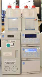 Photograph of the Dionex Ion Chromatograph