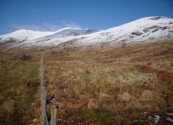 Photograph showing part of the Glen Finglas landscape