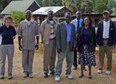 Photograph of some of the partners in the Monsanto Fund Grant project in Kenya