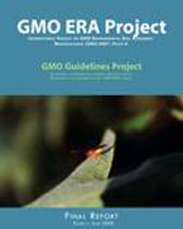 Image of the cover of the GMO ERA Project final report