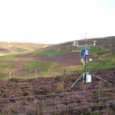 Automatic weather recording equipment at Glensaugh