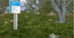Video walk-through of virtual woodland (this link takes you to a page on YouTube)