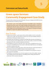 Green space Services: Community Engagement Case Study, Dundee, using Virtual Reality Modelling