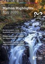 May 2020 issue of Hutton Highlights