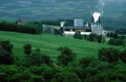 Factories - in this case, the Glenlivet Distillery, Moray