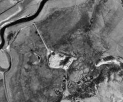 Bottom - Aerial Photograph of same area