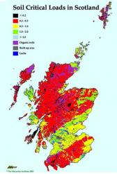 Soil Critical Loads in Scotland