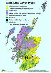 Landcover of Scotland (LCS88) - Main Land Cover Types