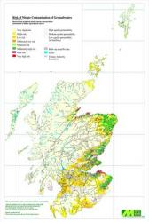 Image showing Nitrate Vulnerable Zones in Scotland