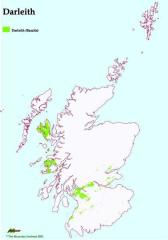 Distribution of Darleith Soil Association