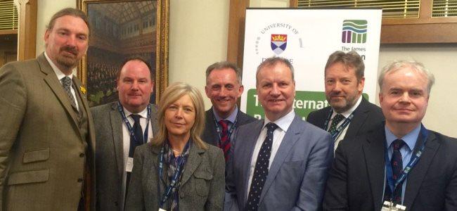 International Barley Hub project presented at UK Parliament