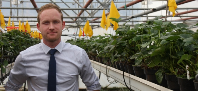Hutton horticultural scientist scoops Business Leader of Tomorrow award