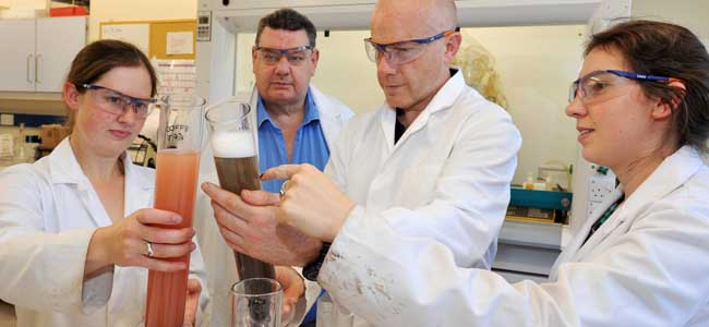Read about our cup winning clay mineralogy team