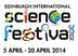 Discover our science at Edinburgh International Science Festival